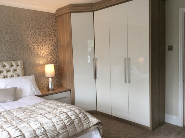 White gloss bedroom bolton phase two bedrooms for White gloss bedroom furniture